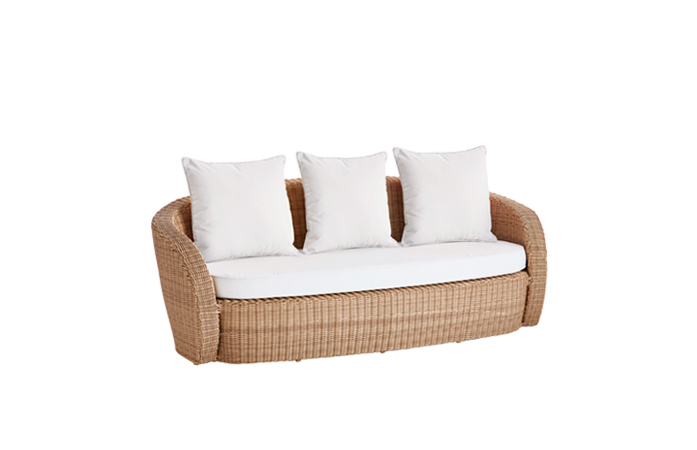 Lotus 3-Seater Sofa